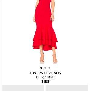 20c4b44cea Lovers + Friends Dresses - Lovers + Friends Dillon Midi Dress